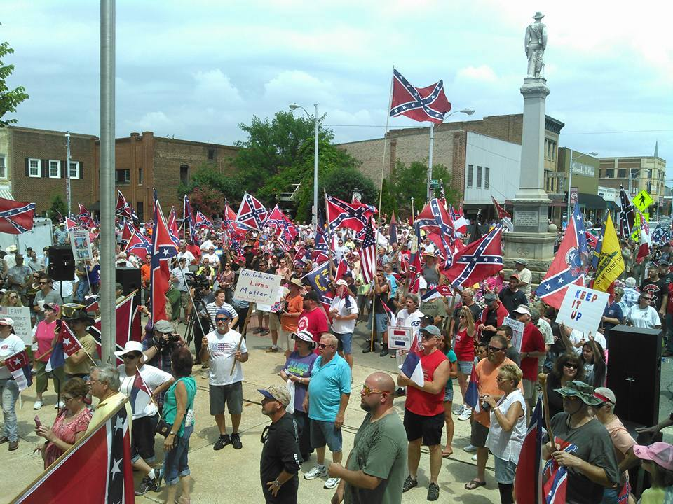 Actbac Nc Joins Neo Confederates Rallying Around Lost
